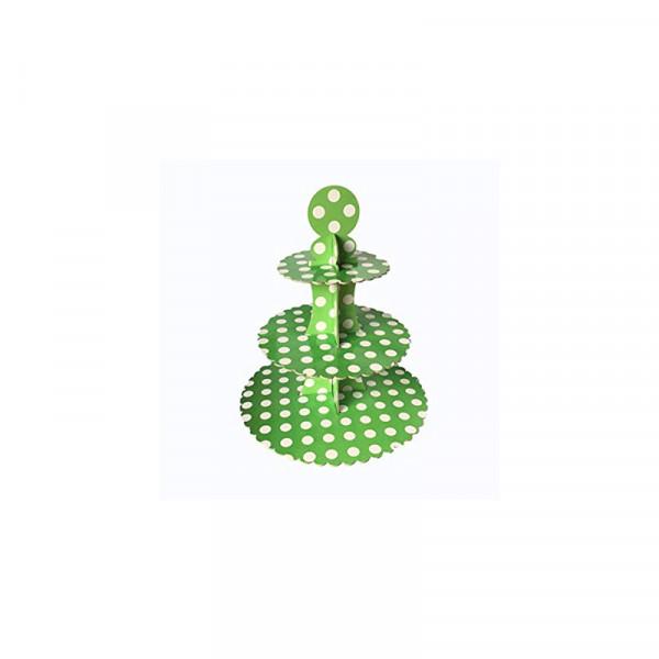 Green Cupcake Tier