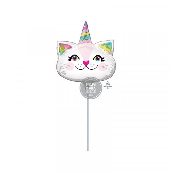 Mini Shape Caticorn Foil Balloon