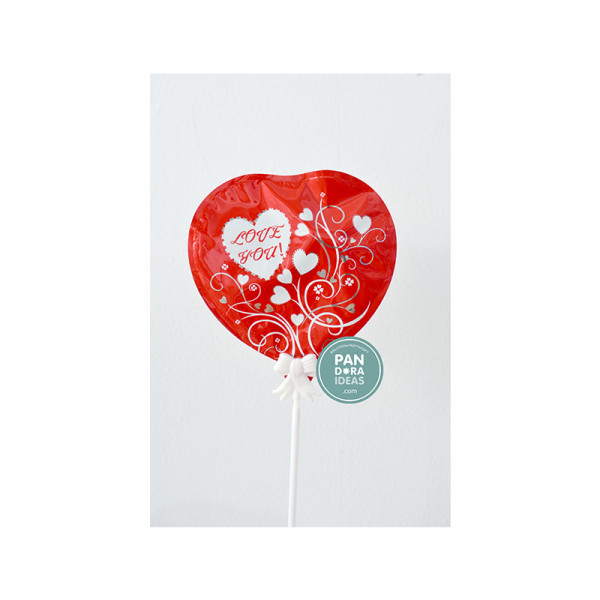 LOVE YOU ! Cake Topper Balloon