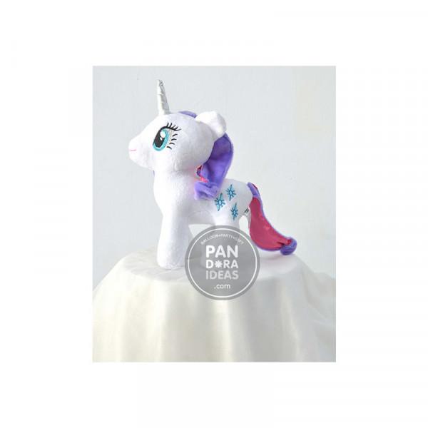 "White Little Pony 10"""