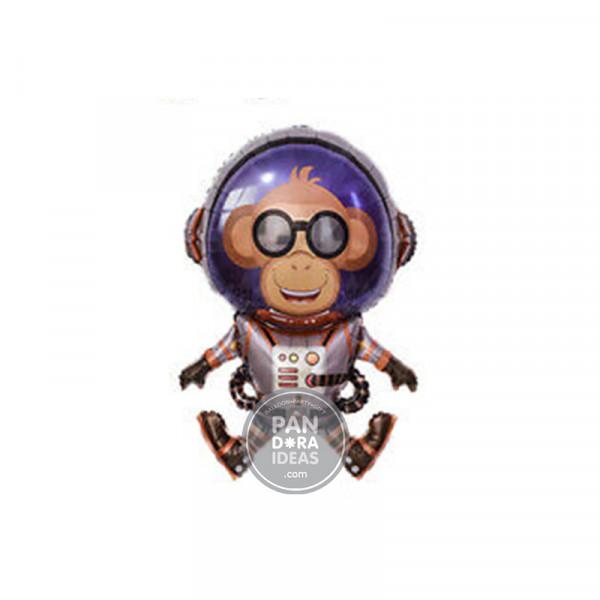 Astronaut Monkey Foil Balloon