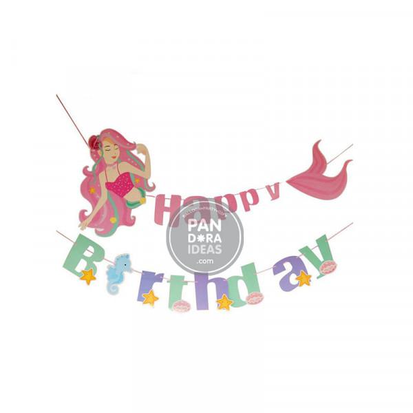 Mermaid Birthday Garland