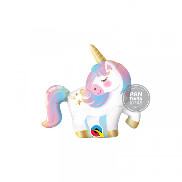 "14"" Mini Unicorn Foil Balloon"