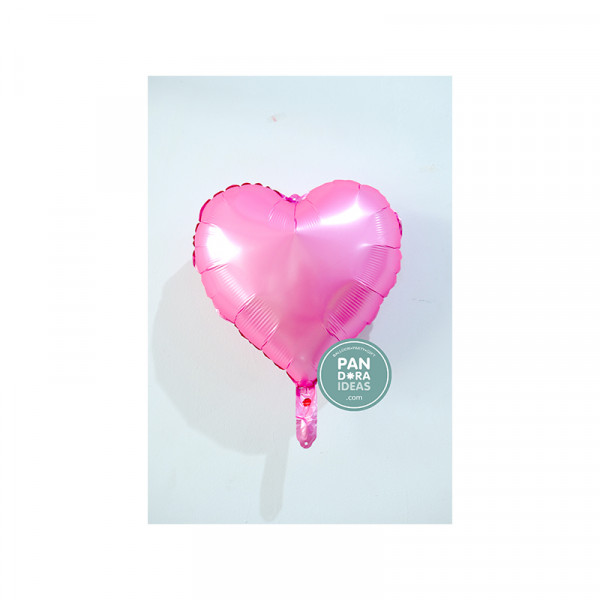 """18"""" Heart Bright Pink"""