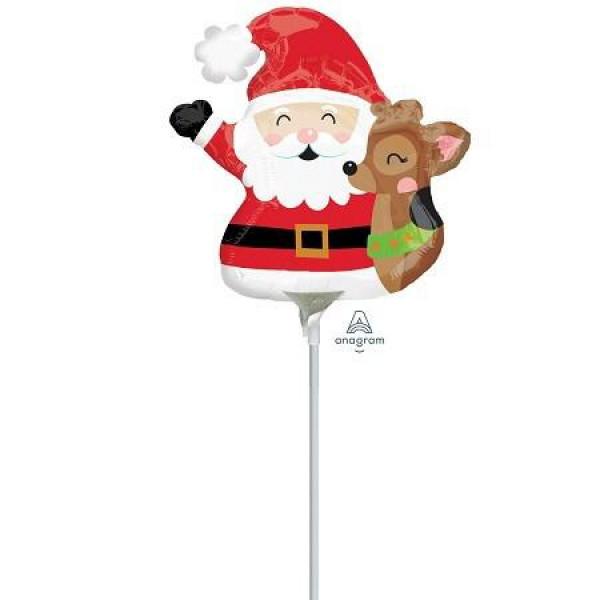 Santa & Raindeer Balloon