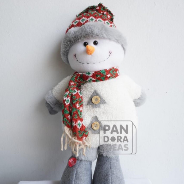 """Snowman Standing Christmas With LED 13"""""""