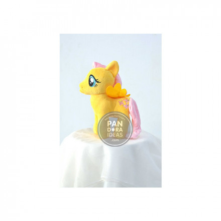 Yellow Pink Little Pony 10""
