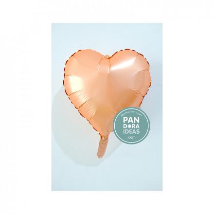 """18"""" Heart Peach"""