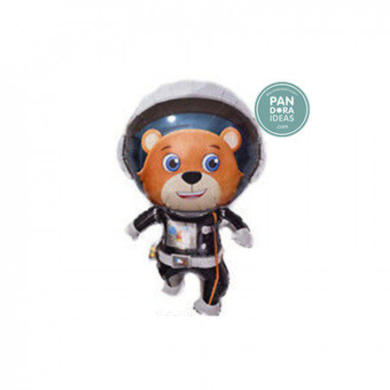 Astronaut Bear Foil Balloon