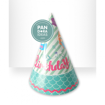 Mermaid Party Hat