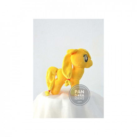 Yellow Little Pony 10""