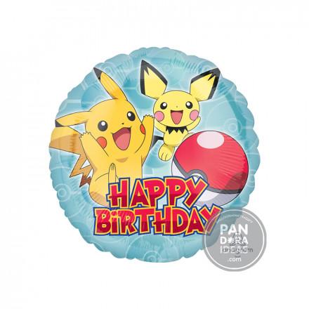 "17"" Round Pikachu Balloon"
