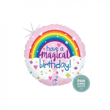 "18"" Have A Magical Birthday Foil Balloon"