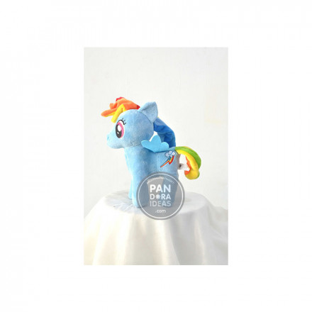 Blue Little Pony 10""