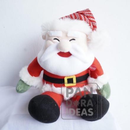 "Santa Sitting Christmas With LED 10"""
