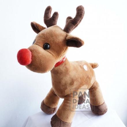 """Raindeer Standing Christmas With Music 10"""""""