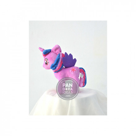 Rose Pink Little Pony 10""