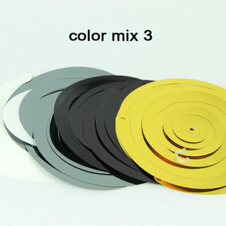 Swirl Decoration Color Mix 3