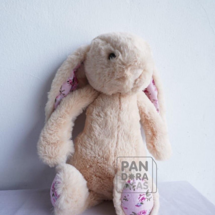 Gray Elli Rabbit Doll 11""