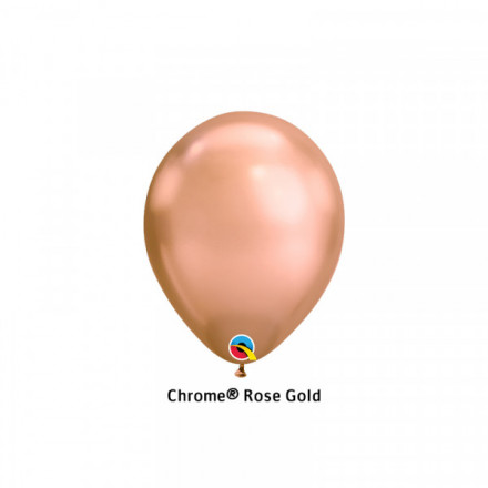 "7"" Chrome Rose Gold"