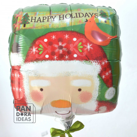Santa Happy Holidays Balloon