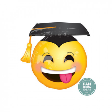 """26""""x 25"""" Awesome Grad Face"""
