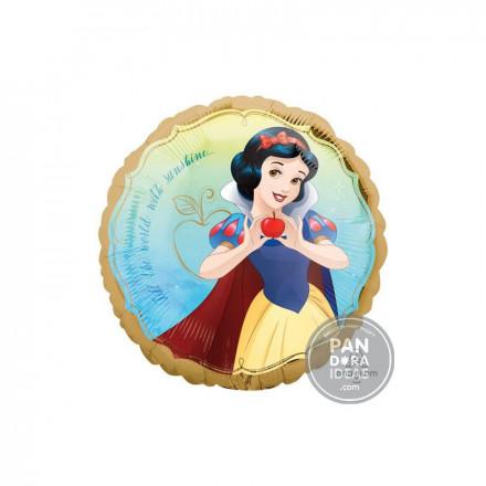 """18"""" Round Snow White"""