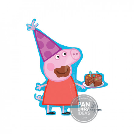 Supershape Peppa Pig With Cake