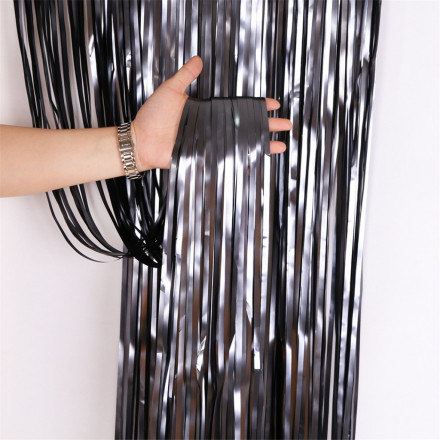 Foil Curtain Matte Black